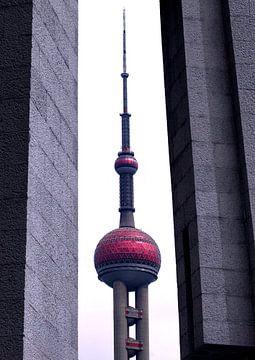 Der Oriental Pearl Tower von Ravi Smits