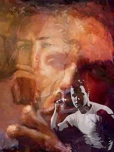 Brando Marlon Brando Pop Art van Leah Devora