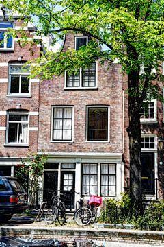 Nummer 3 Egelantiersgracht 54 Huis Color Artistic sur Hendrik-Jan Kornelis