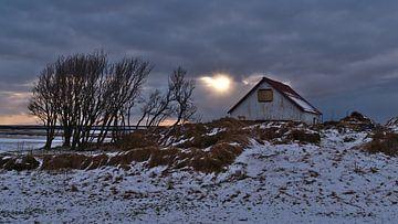 Winter in IJsland van Timon Schneider