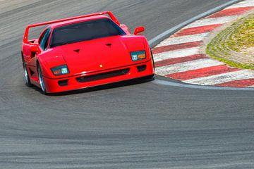 Ferrari F40 superauto uit de jaren tachtig van Sjoerd van der Wal