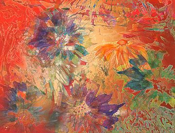 Blütenglück von Claudia Gründler