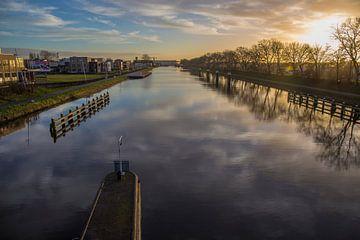 Zonsondergang langs het Kanaal door Walcheren von Marcel Klootwijk