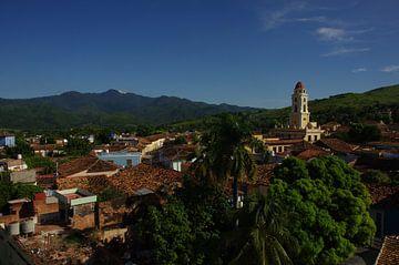 Uitzicht over Trinidad van