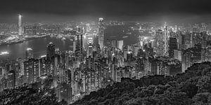 Hong Kong by Night - Victoria Peak - 6