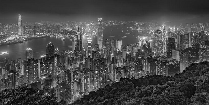 Hong Kong by Night - Victoria Peak - 6 van Tux Photography