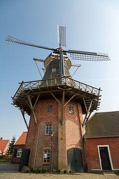 Mühle in Ostfriesland von Rolf Pötsch