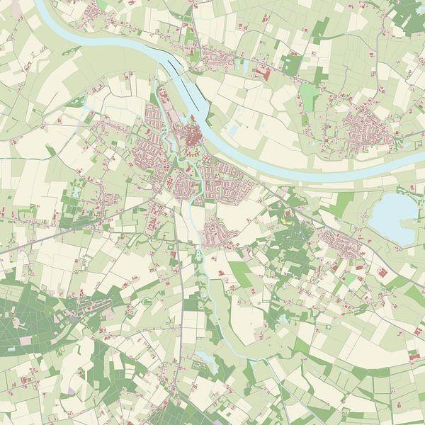 Kaart vanGrave