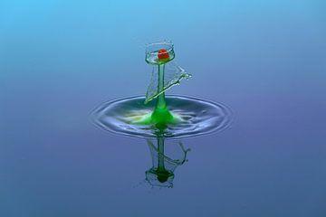 waterdruppel sur Lisa Kompier
