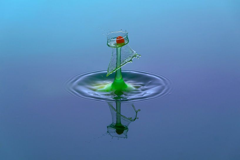 waterdruppel van Lisa Antoinette Photography