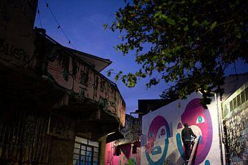 Graffiti Sao Paulo van Merijn Geurts