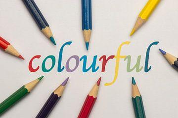 kleurrijk   van