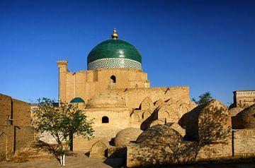 Islam Khodja Moschee Chiwa Usbekistan von Yvonne Smits