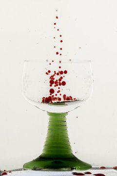 Glas vullen 1 van Joke Beers-Blom