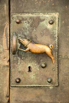 Porte ancienne (Détail) sur Marianne Twijnstra-Gerrits