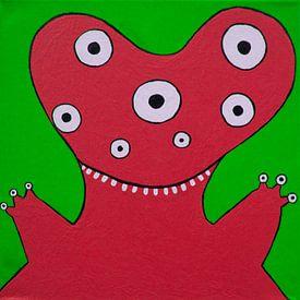 Rood Monstertje von Studio Fantasia