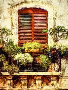 Balcony van Andreas Wemmje