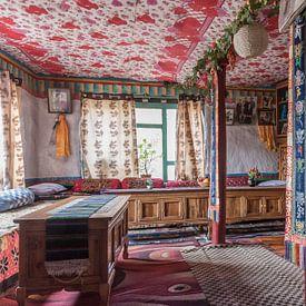 Tibetisches Hinterland im Himalaya von Nepal von Photolovers reisfotografie
