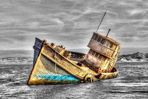 Gezonken schip van