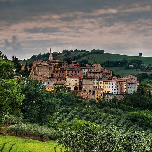 dorpje in Marken, Italië