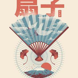 Sensu Japanischer Fächer von Rene Hamann