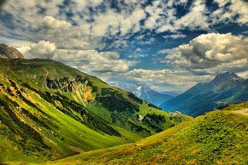 La montagne verte sur Filippus Kiemel