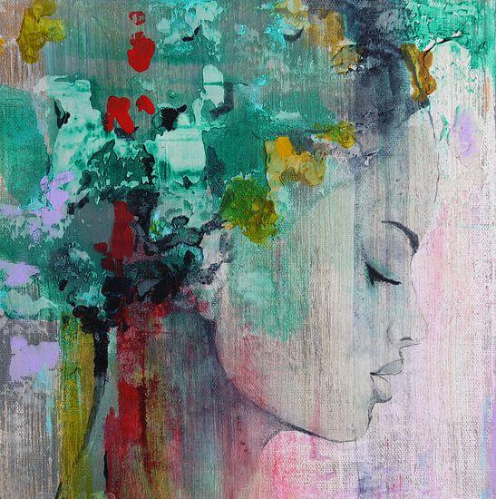 Art face 15 van Atelier Paint-Ing