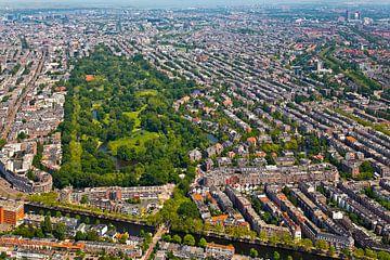 Luchtfoto Vondelpark te Amsterdam van