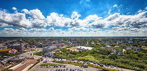 HDR foto van zonnig Noordwijk