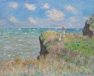 Cliff Walk at Pourville, Claude Monet sur