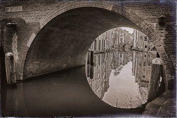 Gaardbrücke in Utrecht von Jan van der Knaap