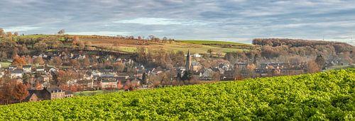 Panorama van het kerkdorpje Eys in Zuid-Limburg