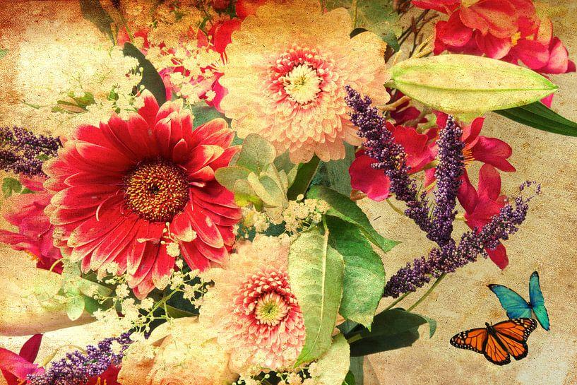 Bloemen kunst van Wendy Tellier - Vastenhouw