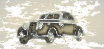 Klassieke Auto van ! Grobie