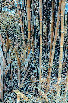 Gouden bamboe van Diana Mets
