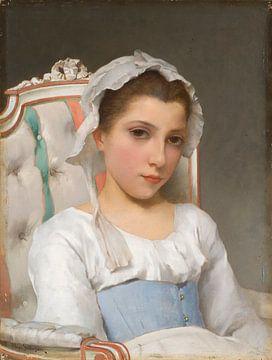 Portrait eines Mädchens, Hugo Salmson
