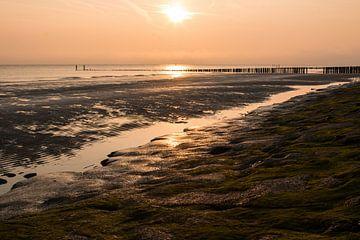 Zonsondergang in Zoutelande van Mario Lere