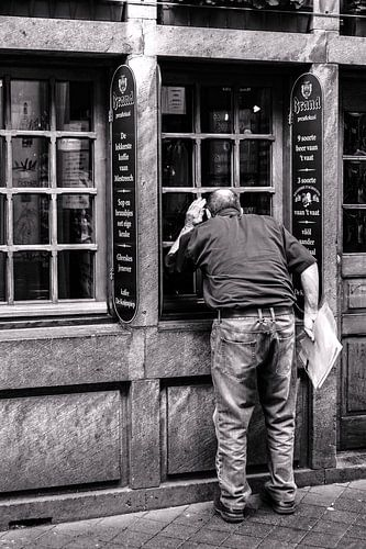 Straatfotografie in Maastricht van Leo van Vliet