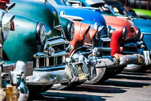 Motorkappen en bumpers van