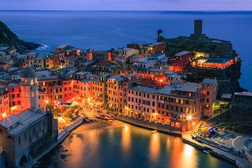Vernazza, Cinque Terre, Italie sur Henk Meijer Photography