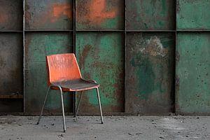 oranje stoel