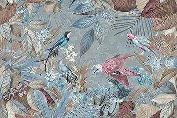 Les oiseaux au paradis sur Andrea Haase