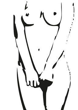 Verlegen maar niet erg. van Alexander Frencken