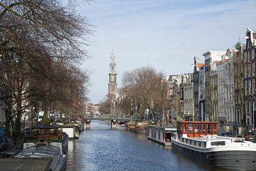Prinsengracht in Amsterdam van Barbara Brolsma