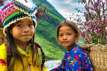 Les enfants des Hmong sur Bart Nikkels
