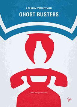 No104 My Ghostbusters minimal movie poster van Chungkong Art