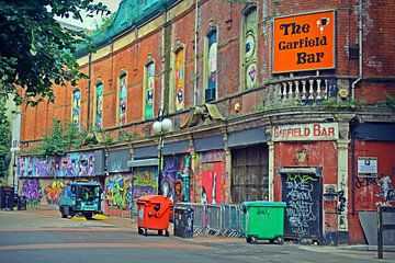 Street Art (Belfast) van Lisa Geurts