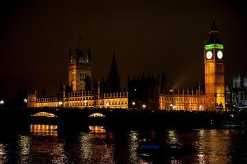 House of Parliament en de Big Ben van Mariska Hanegraaf
