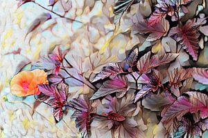 Herbst Ölmalerei