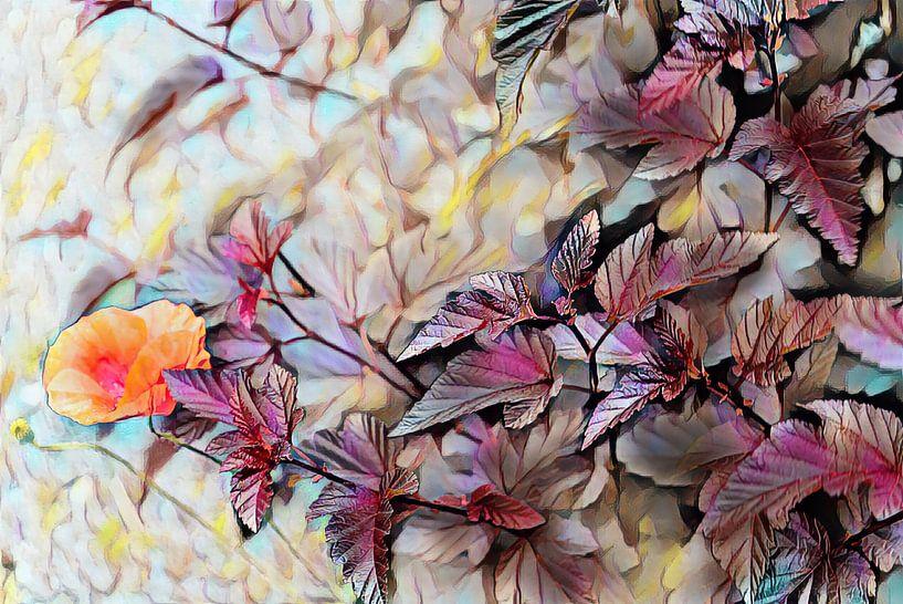 Herbst Ölmalerei von Patricia Piotrak
